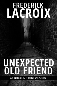 Cover for the short story Unexpected Old Friend by Frederick Lacroix