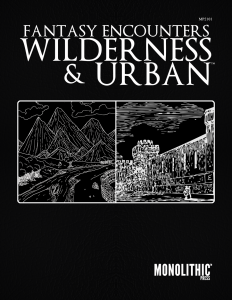 Cover Fantasy Encounters - Wilderness & Urban