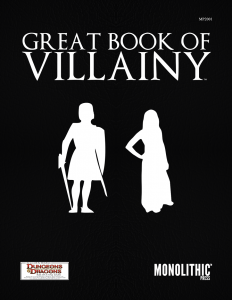 Cover Great Book of Villainy