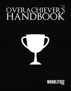 Cover for the Overachiever's Handbook